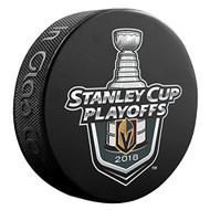 2018 NHL Las Vegas Golden Knights Team Lock-Up Souvenir Hockey Puck