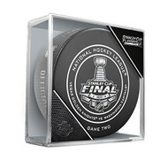 2018 Stanley Cup Finals Game #2 (Two) Washington Capitals vs. Las Vegas Golden Knights Official Game Hockey Puck Cubed