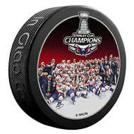 2018 NHL Stanley Cup Champions Washington Capitals Team Image Picture Souvenir Puck