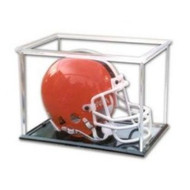 Mini Football Helmet Display Cube by Pro-Mold (1 Case of 12 Total)