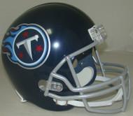 Tennessee Titans 2018 Satin Navy Metallic Riddell Full Size Replica Helmet