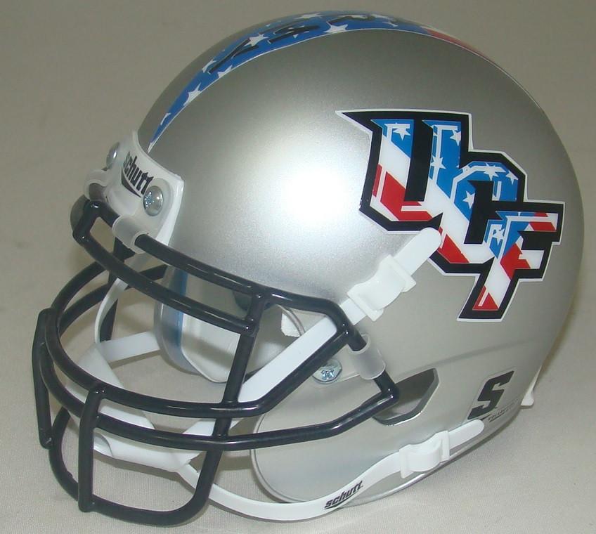 6527bf2a Central Florida Golden Knights Alternate Patriot Schutt Mini Authentic  Helmet