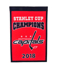 Washington Capitals 2018 Stanley Cup Champions 14'' x 22'' Banner
