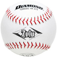 Diamond 12-Inch Super Synthetic Cover Softballs, Cork Core, 44 COR, 375 Compression, ASA Stamped, (Dozen)