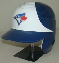 Toronto Blue Jays Rawlings White LEC Coolflo Full Size Baseball Batting Helmet