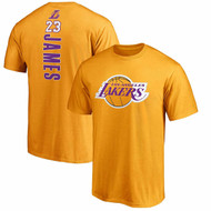 LeBron James Los Angeles Lakers LA #23 NBA Fanatics Big & Tall T-Shirt Backer Jersey