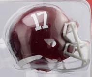 Alabama Crimson Tide #17 Revolution Mini Pocket Pro Helmet