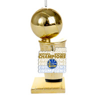 Golden State Warriors 2018 NBA Champions Trophy Ornament