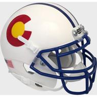 Colorado State Rams Alternate Schutt Mini Authentic Helmet