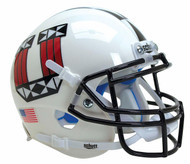 Utah Utes White Tribal Alternate Schutt Mini Authentic Helmet