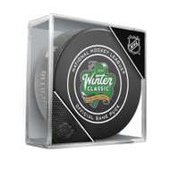 2019 Winter Classic Sherwood Official NHL Game Puck in Cube