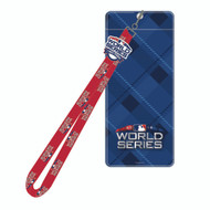 2018 MLB WORLD SERIES LANYARD, TICKET HOLDER & PIN SET