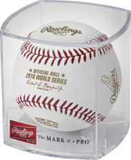 Dozen - Rawlings 2018 Official World Series Dueling Baseball in Cube (Boston Red Sox vs. Los Angeles Dodgers)