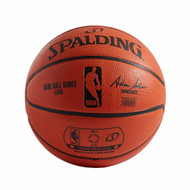 Spalding NBA Mini 2-Panel Rubber Basketball Size 3 / 22 inch