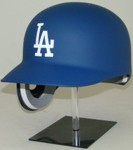 Los Angeles Dodgers MATTE BLUE Rawlings REC Classic Full Size Baseball Batting Helmet (for Left Handed Batter)