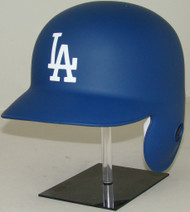 Los Angeles Dodgers MATTE BLUE Rawlings LEC Classic Full Size Baseball Batting Helmet (for Right Handed Batter)