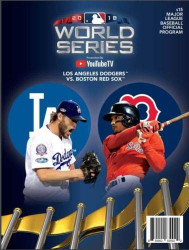 2018 Official World Series Program - Los Angeles Dodgers vs. Boston Red Sox