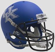 Kentucky Wildcats Alternate Matte Blue Schutt Full Size Replica Helmet