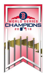 2018 Boston Red Sox World Series Champions Banner Lapel Pin