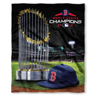 "Boston Red Sox The Northwest Company 2018 World Series Champions 50"" x 60"" Silk Touch Blanket"