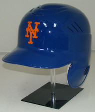 New York Mets All Blue Rawlings Coolflo LEC Full Size Baseball Batting Helmet