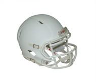 Matte White with White Mask Blank Riddell Revolution SPEED Mini Football Helmet