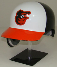 Baltimore Orioles White Front Rawlings Classic REC Full Size Baseball Batting Helmet