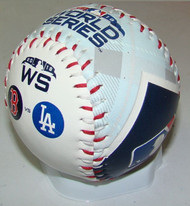 2018 World Series Dueling Souvenir Collectible Replica Baseball by Rawlings - Red Sox vs. Dodgers