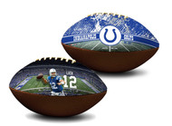 Andrew Luck Indianapolis Colts NFL Full Size Official Licensed Premium Football