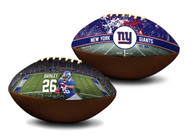 Saquon Barkley New York Giants NFL Full Size Official Licensed Premium Football