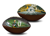 Davante Adams Green Bay Packers NFL Full Size Official Licensed Premium Football