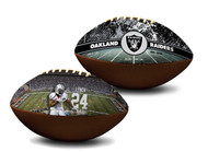 Marshawn Lynch Oakland Raiders NFL Full Size Official Licensed Premium Football
