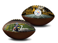 Ben Roethlisberger Pittsburgh Steelers NFL Full Size Official Licensed Premium Football