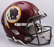 Washington Redskins NFL Retro Tribute Color Rush SPEED Riddell Full Size Replica Football Helmet
