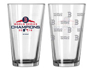 Boston Red Sox 2018 World Series Champions Official 16 oz. SATIN ETCH Pint Glass