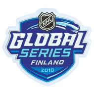 NHL Global Series Jersey Patch - Finland - Florida Panthers vs. Winnipeg Jets