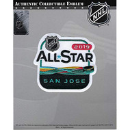 2019 Official NHL All Star Game San Jose Sharks Embroidered Jersey Collectible Patch