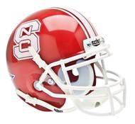 North Carolina NC State Wolfpack Alternate Red Schutt Mini Authentic Helmet