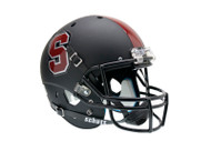 Stanford Cardinal Alternate Black Schutt Full Size Replica Helmet
