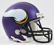 Minnesota Vikings Matte Purple Riddell Mini Helmet