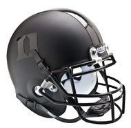 Duke Blue Devils Alternate Matte Black Schutt Mini Authentic Helmet