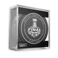 2013 NHL Stanley Cup Playoff Sherwood Official Game Puck (Game Three)