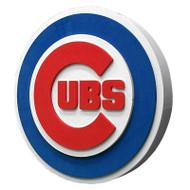 Chicago Cubs 3D Fan Foam Logo Sign