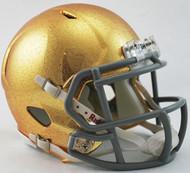 Notre Dame Fighting Irish NCAA Riddell Speed Hydrofx Mini Helmet
