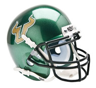 South Florida Bulls Alternate Green Schutt Mini Authentic Helmet