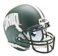 Ohio University Bobcats Alternate Green Schutt Mini Authentic Helmet