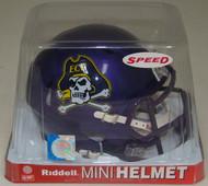 East Carolina Pirates NCAA Revolution SPEED Mini Helmet