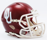 Oklahoma Sooners NCAA Riddell Speed Mini Helmet