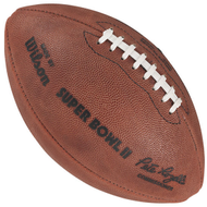 Super Bowl II (Two 2) Official Leather Authentic Game Football by Wilson