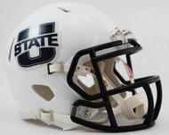 Utah State Aggies Revolution NCAA SPEED Mini Helmet